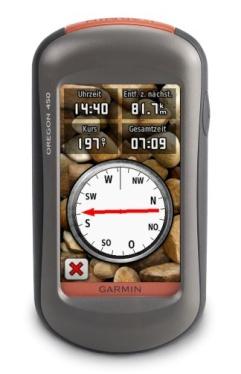 Håndholdt GPS