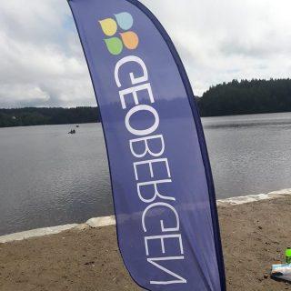 På søndag var GeoBergen på stand under Friluftsfestivalen på Litlabø, veldig koselig med godt besøk på standen. #geobergen